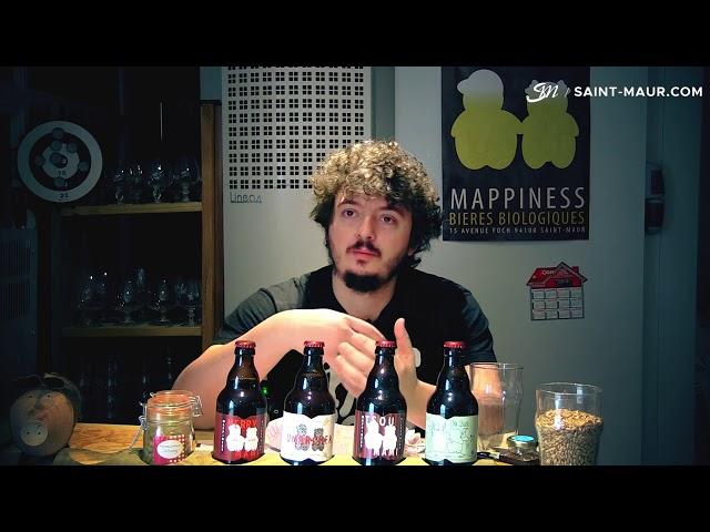 Vidéo zoom sur la bière* fabriquée à Saint-Maur : Brasserie Mappiness !