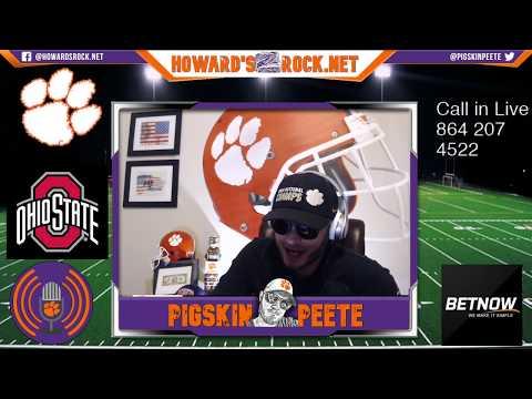 LIVE Call In | Clemson Vs OSU Fiesta Bowl Rematch 2019