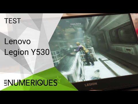 Test du PC Gamer Lenovo Legion Y530