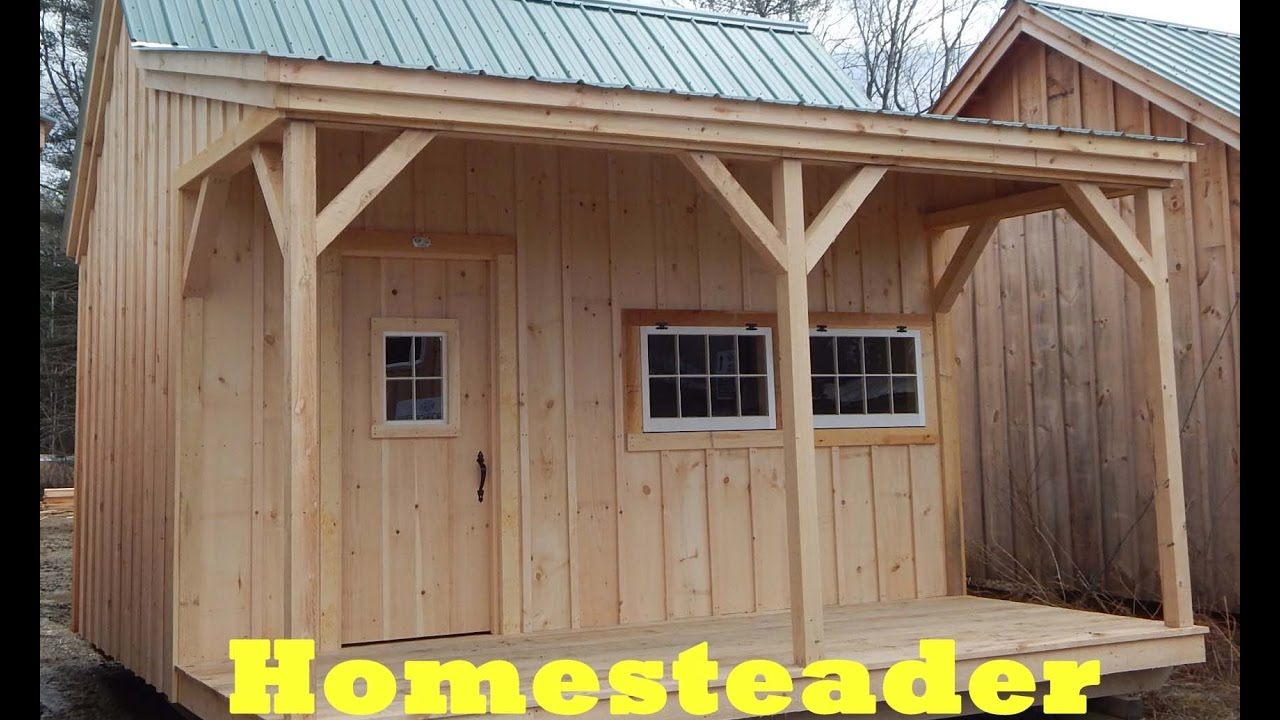 Diy Build Or Buy Your Own 16x6 Weather Tight Tiny House Free Shipping On Pre Cut Kits