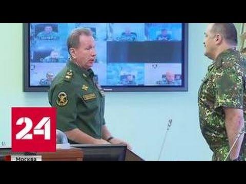 Виктор Золотов представил личному составу своего первого заместителя