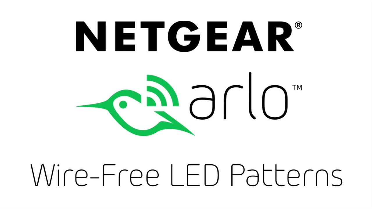 Arlo Wire-Free LED patterns -First generation camera and base station-