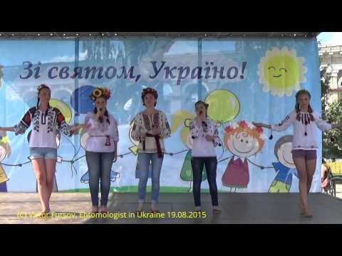 Independence Day of Ukraine at Kontraktova Square, Kiev, Ukraine 24.08.2015