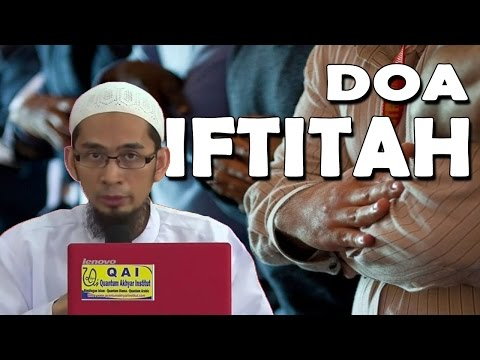 Doa Iftitah Yang Diajarkan Rasulullah SAW -  Ustadz Adi Hidayat, Lc, MA