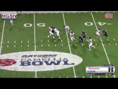 Interception Return for TD by Bessemer Academy