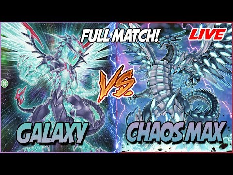 YuGiOh Live Duel: Galaxy Photon Vs Blue Eyes Chaos Max! |Epic Match!| |November 2018|