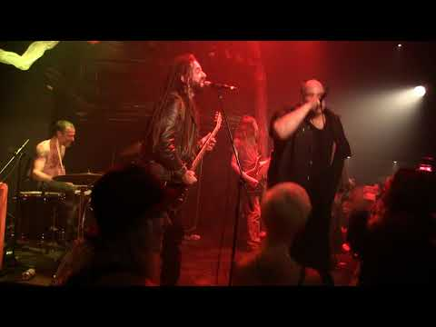 DOPETHRONE Scum Fuck Blues (Feat. Uncle Costa) live @ Coop Katacombes, Montreal. 19/08/2017