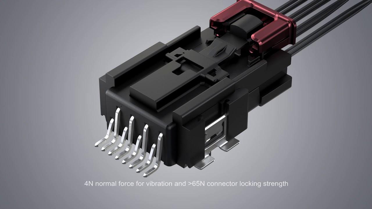 Amphenol ICC - Minitek Microspace™ Crimp-to-Wire Connector Platform ...