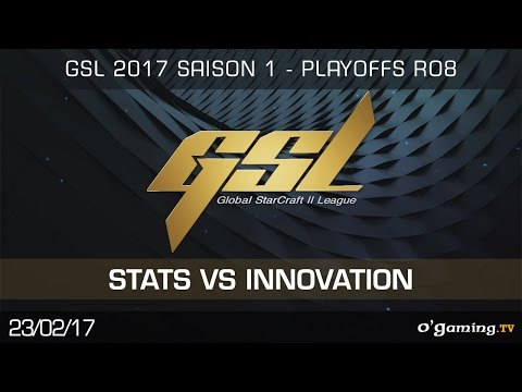 Stats vs INnoVation PvT - GSL 2017 S1 Code S - Playoffs RO8 - Starcraft II