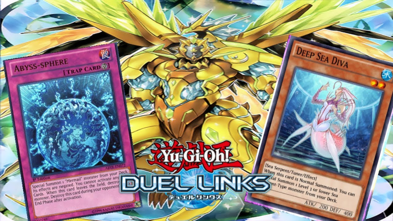 Crystron Synchro Ft  Mermails! {Yu-Gi-Oh! Duel Links}