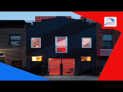 LOT-EK uses shipping containers to overhaul Brooklyn carriage house - Beauty Architecture