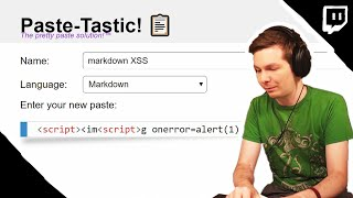 Paste-Tastic! - Post Google CTF 2019 Stream