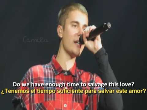 Justin Bieber - Life Is Worth Living (Live) Sub Español.