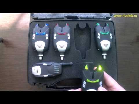 как настроить электронный сигнализатор поклевки