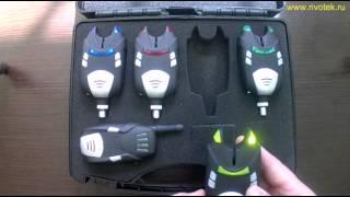 Простой и удобный электронный сигнализатор поклевки с пейджером 4+1.