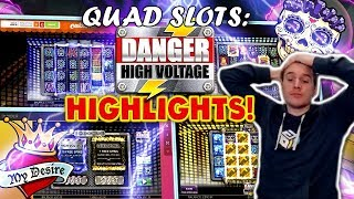 Danger High Voltage Quad Results - 28 Slot Bonuses!