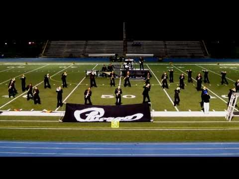 Crestwood High School Marching Band preforming