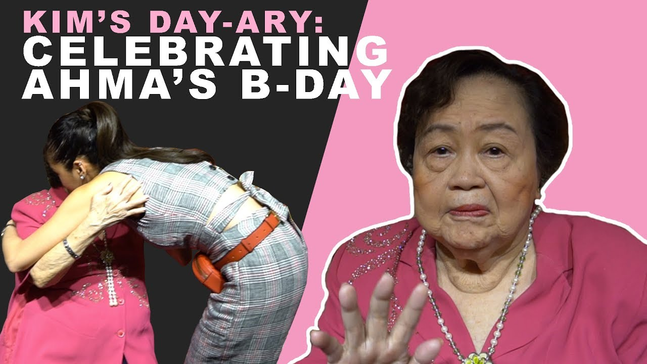 KIM'S DAY-ary: Happy Birthday Ahma! - Kim Chiu 2018-05-22 04:45