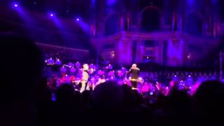 Incredible David Garrett in Royal Albert Hall yesterday eve