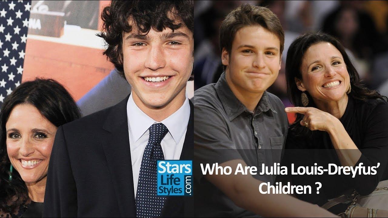 Who Are Julia Louis Dreyfus Children 2 Sons