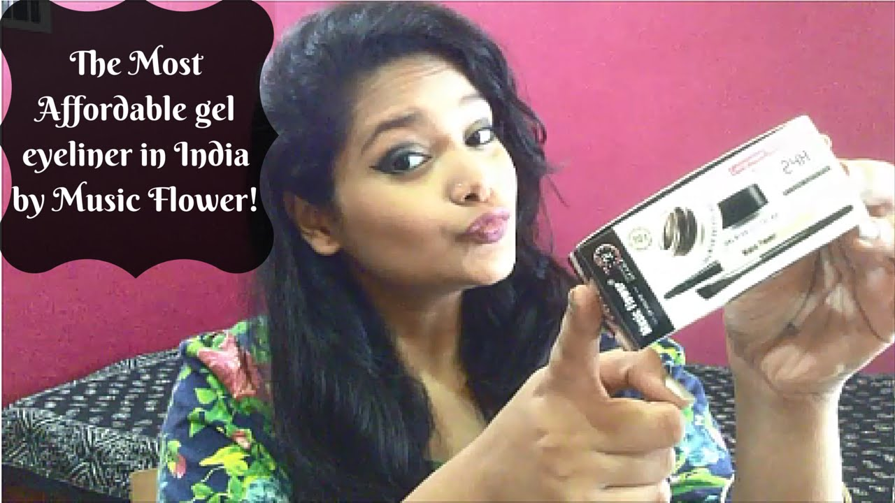 The Best Budget Gel Eyeliner In India Under Inr 300 Review Demo