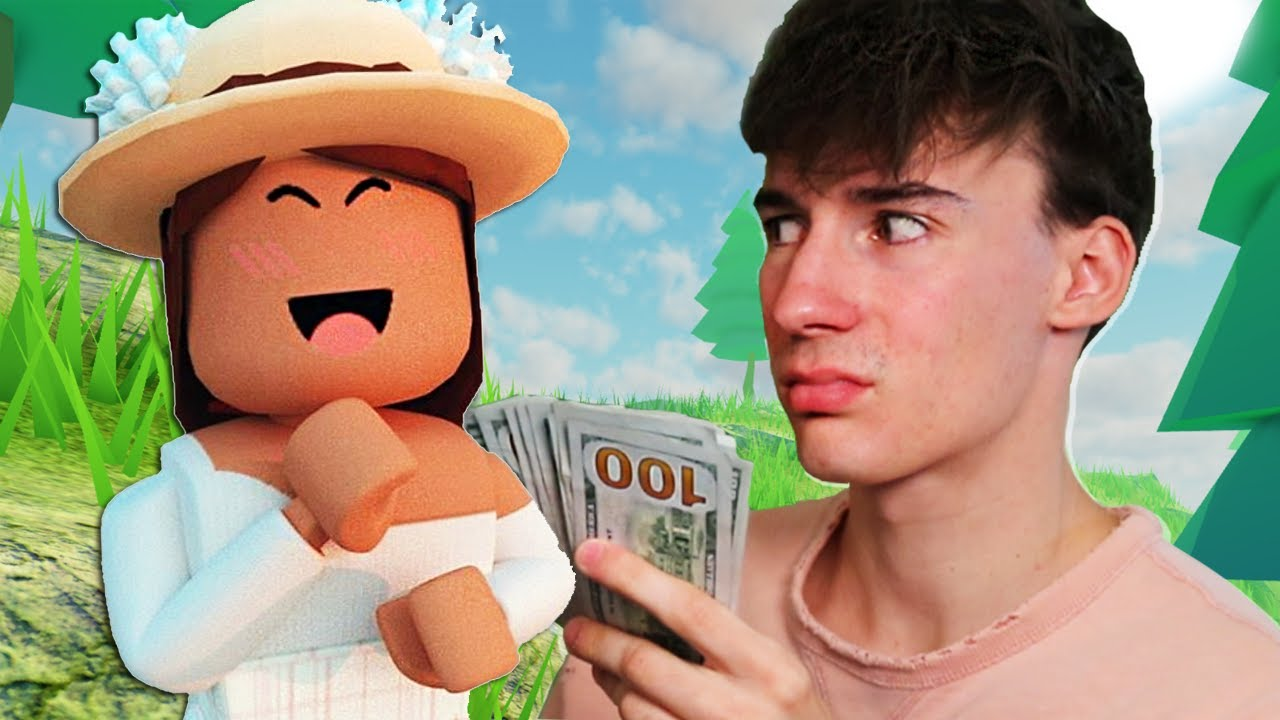 i paid $100 to play roblox with a girl..