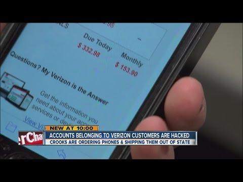 Accounts belonging to Verizon customers hacked - YouTube