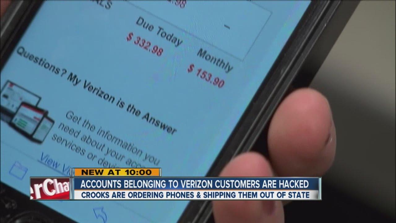 Accounts belonging to Verizon customers hacked