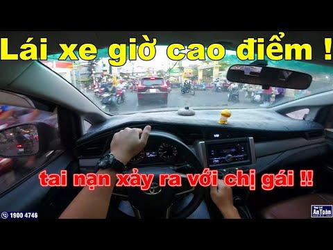 Lái xe giờ cao điểm trong thành phố ! Đã có tai nạn   Ô Tô Vlog 110