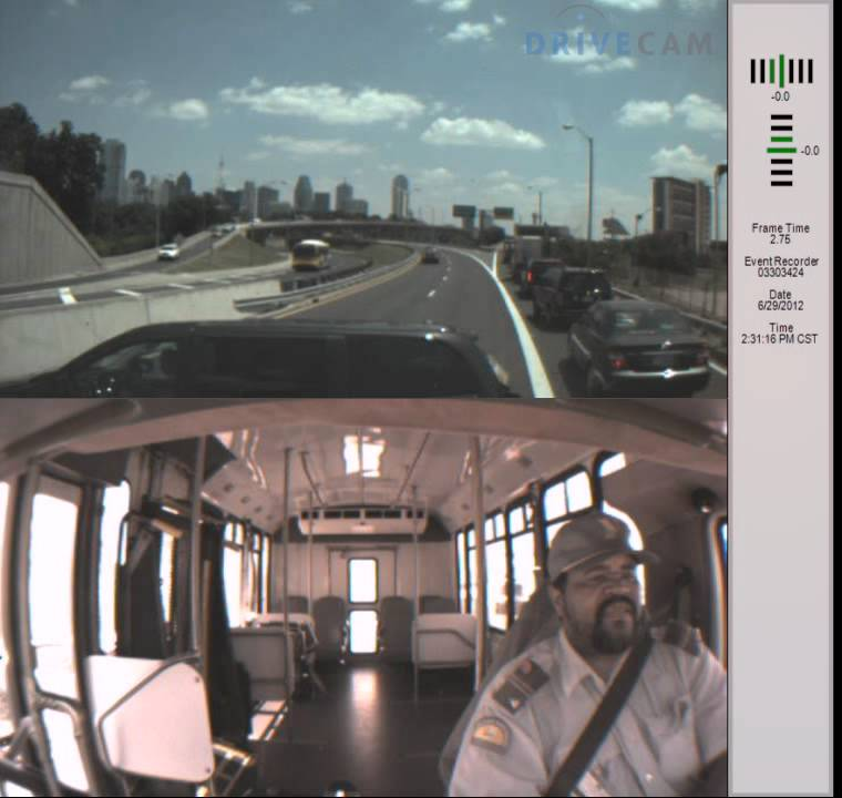 DART paratransit driver slams into cars on southbound Tollway ...