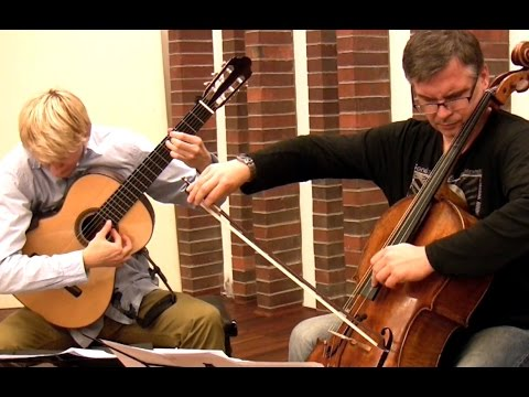 ANAMNESIS | After Tōru TAKEMITSU (for cello and guitar) by Marek PASIECZNY | feat. Andrzej BAUER