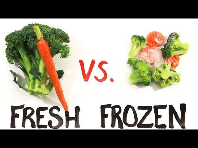 Fresh vs Frozen Food