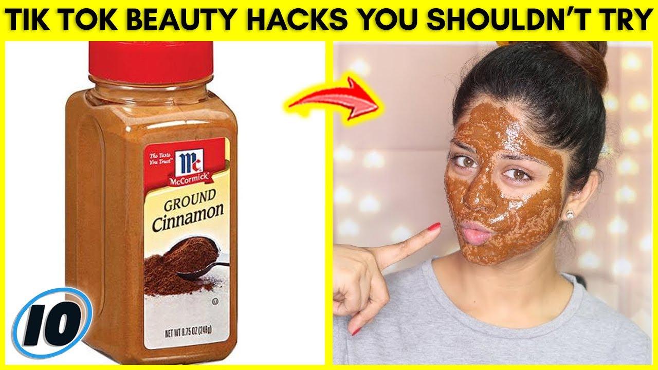 Top 10 Tik Tok Beauty Hacks You Shouldn't Try - Part 2