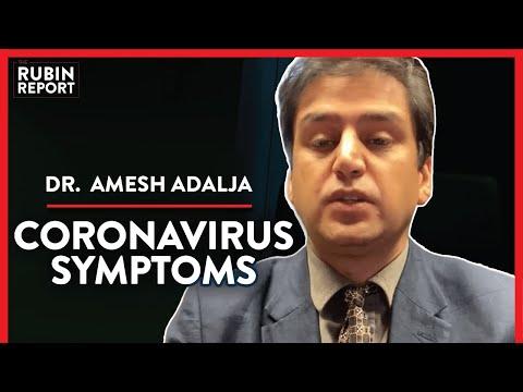 DOCTOR: How You Can Spot Coronavirus Symptoms (Pt. 2)| Dr. Amesh Adalja | CORONAVIRUS | Rubin Report