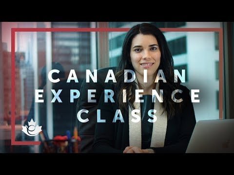 EXPRESS ENTRY - CANADIAN EXPERIENCE CLASS