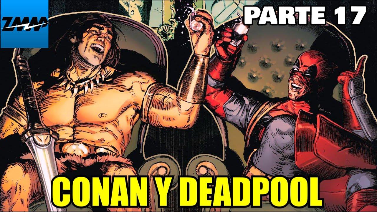 (Conan y Deadpool?) Los vengadores salvajes - Parte 17 - alejozaaap