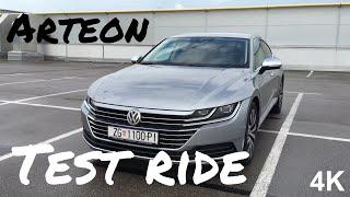 Volkswagen Arteon Elegance 2017 in depth review and test ride in 4K