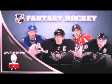 THE SHOT FROM THE POINT 2016-17 NHL FANTASY HOCKEY DRAFT LIVE