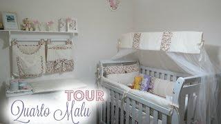 TOUR PELO QUARTO DA MARIA LUIZA ♡