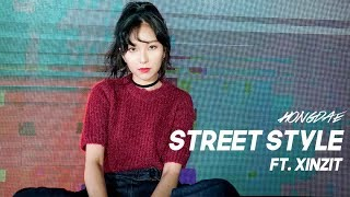 figcaption Hongdae Street Style Lookbook ft.Xinzit