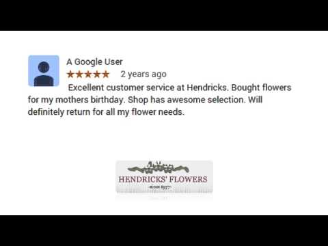 Hendricks' Flower Shop - REVIEWS - Lititz (PA) Flower Shop Reviews