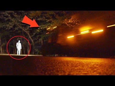 mannequin vs phantom truck on clinton road (he went through the truck...)