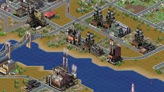 SimCity 3000 Time-lapse Birth of an Industrial Town