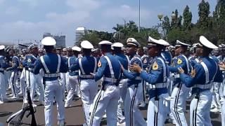Aksi TNI Yel Yel Taruna Akademi TNI
