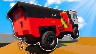 OFF ROAD JUMP RACE! - Brick Rigs Multiplayer Gameplay - Lego Racing Challenge