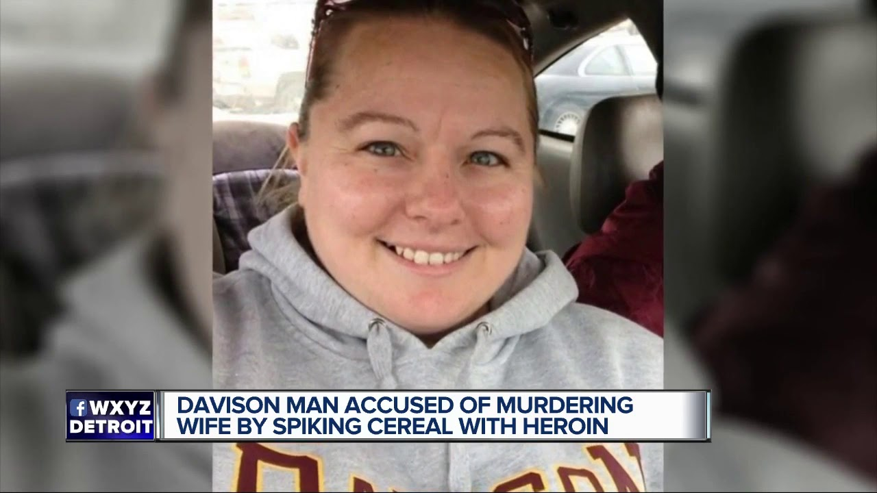 Davison man accused of murdering wife by spiking cereal with heroin