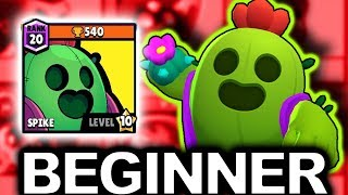 LEGENDARY Brawler SPIKE!  Beginner guide | Brawl Stars