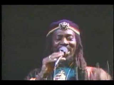 "Bunny Wailer ""Blackheart Man"" live 86"