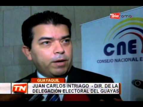 Delegación electoral del Guayas rindió informe de gestión