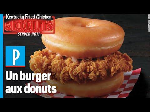 le-burger-aux-donuts,-une-«-bombe-calorique-»-lancée-par-kfc